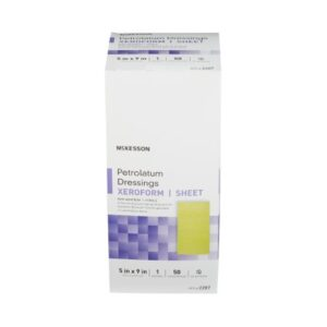 Dressing, Xeroform Petrolatum Dressing 5 X 9 Inch Gauze Bismuth Tribromophenate Sterile