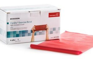 Exercise Band, Light Resistance, 5 IN X 6 YD, McKesson CanDo®
