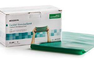 Exercise Band, Medium Resistance, 5 IN X 6 YD, McKesson CanDo®