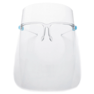 Face Shield with Glasses, Reusable