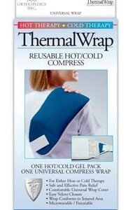 Hot/Cold Therapy, Thermal Wrap, Reusable Compress, Back/Shoulder, ThermaWrap