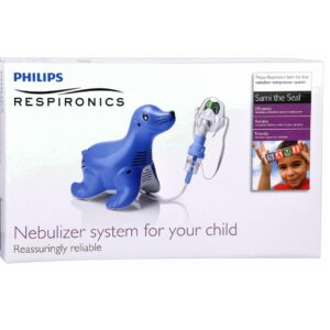 Nebulizer, Sami the Seal Compressor Nebulizer System, Philips Respironics