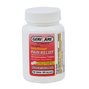Pain Relief Geri-Care® Acetaminophen Tablet