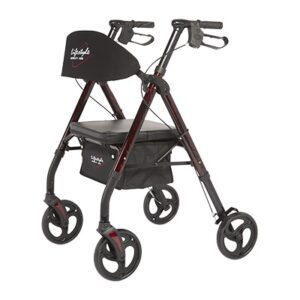 "Rollator, 8"" Wheels, Royal Deluxe Universal, Lifestyle"