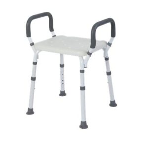 Shower Chair/Bench with Removable Padded Arms (Without Back),Lifestyle