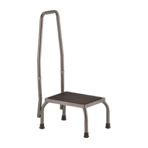 Step Stool With Hand Rail, Nova