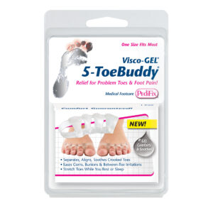 5-ToeBuddy One Size Fits Most 1-Pair PediFix Visco-GEL®