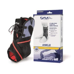 Ankle, Stabilizing Lace-Up Ankle Brace, FLA Orthopedics