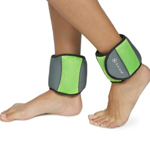 Ankle Weights, 5lb Set, Gaiam