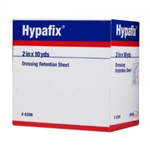 Dressing Retention Tape Hypafix® Skin Friendly Nonwoven, White NonSterile