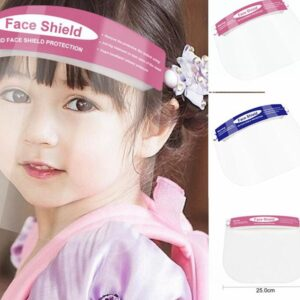 Face Shield, Children's, Disposable, Forehead Elastic Band with Sponge