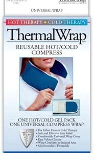 Hot/Cold Therapy, Thermal Wrap, Reusable Compress, Neck/Leg/Ankle, ThermaWrap