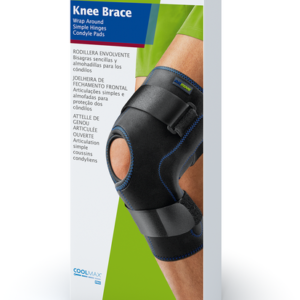 Knee Brace, Wrap Around, Simple Hinges, Condyle Pads, Actimove