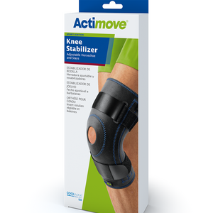 Knee Stabilizer, Adjustable Horseshoe and Stays, Actimove