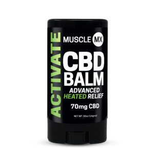 MuscleMX Balm, Activate Heating Balm,Broad Spectrum