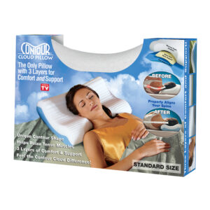 Pillow, Cloud Pillow, Contour