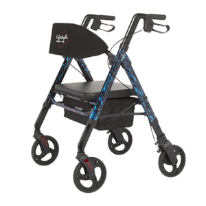 "Rollator, 8"" Wheels, Bariatric, Regal Universal, Lifestyle"