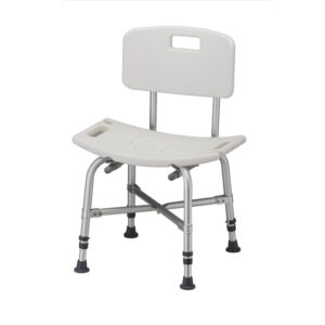 Shower Chair/Bench with Back, Heavy Duty, Nova
