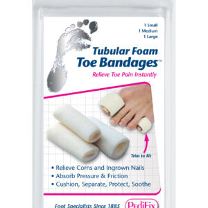 Toe Bandages™ Tubular Foam Mix 3-Pack (1 each S,M,L)PediFix