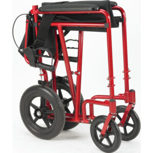 Transport Chair with Hand Brakes, Aluminum, Drive