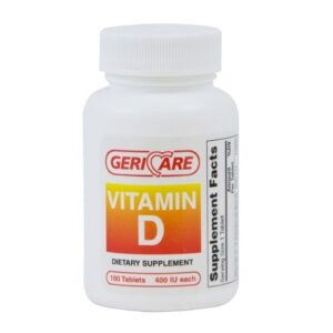 Vitamin Supplement Geri-Care Vitamin D